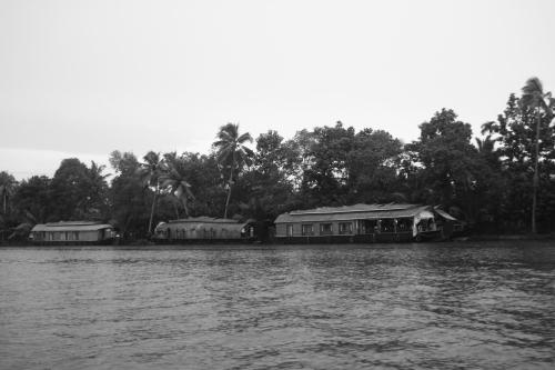 Houseboats at Kumarakom