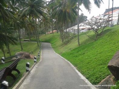 The walking track, Leela Kovalam