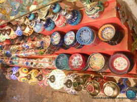Pottery at the Grand Bazaar