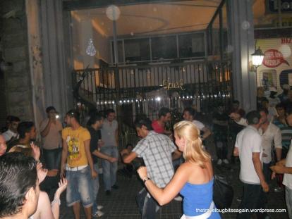 Public dancing at Taksim Square