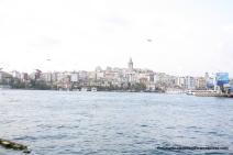 View from Galata Bridge