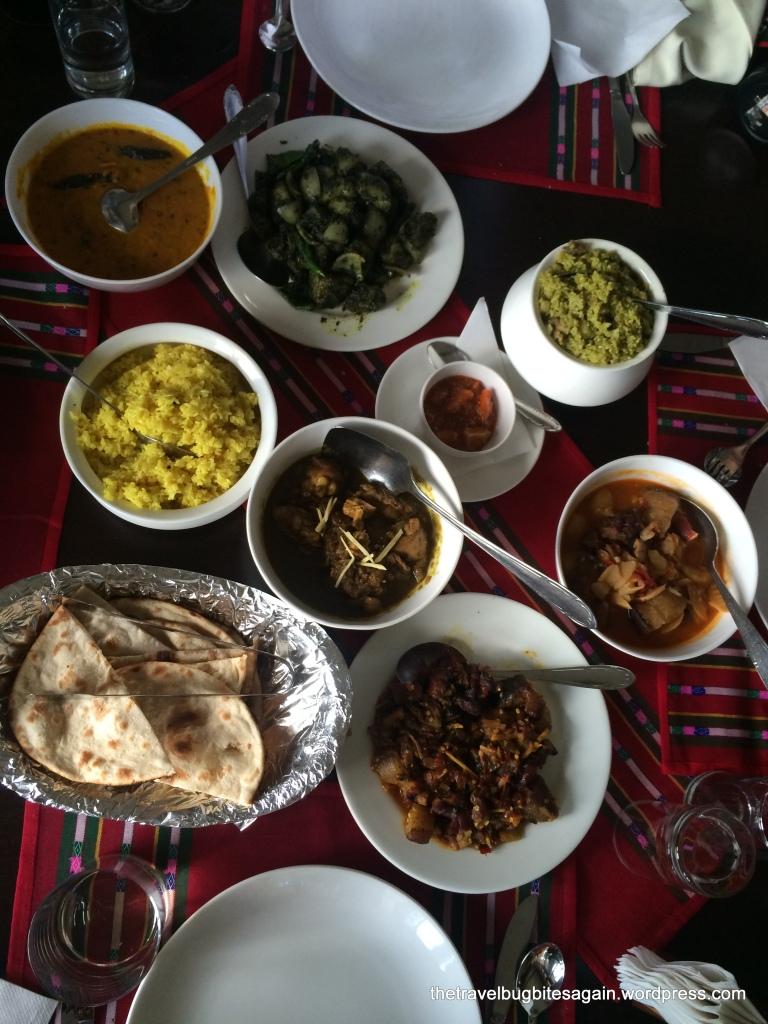 A Khasi feast at Ri Kynjai resort