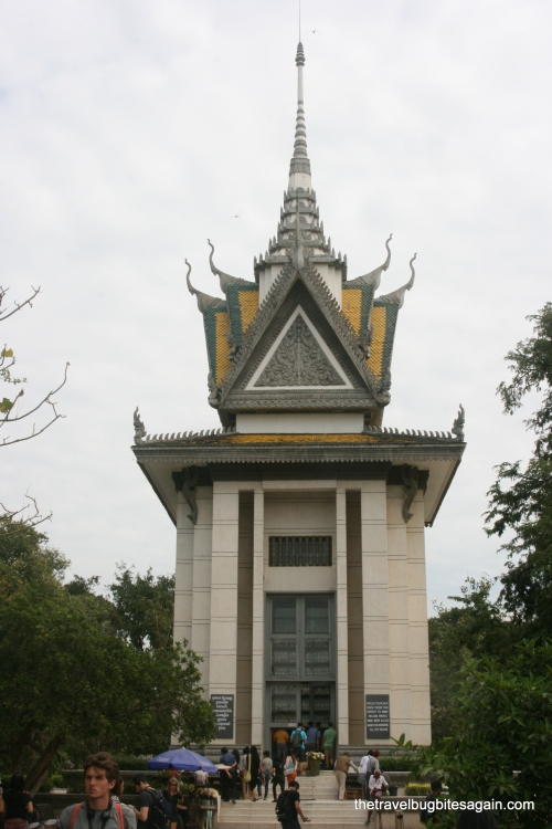 The memorial, Killing Fields